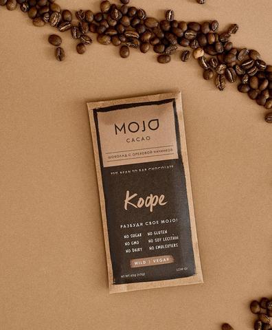 Горький шоколад Mojo Кофе