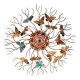 Панно настенное Бабочки 76 см, артикул 874-126, производитель - Lefard