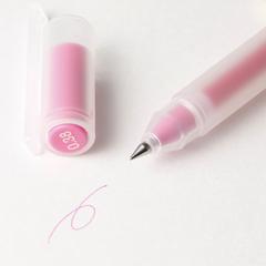 Гелевая ручка Muji 0,38 мм (розовый)