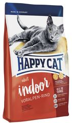 Корм для кошек живущих в помещениях Happy Cat Supreme Indoor Альпийская говядина