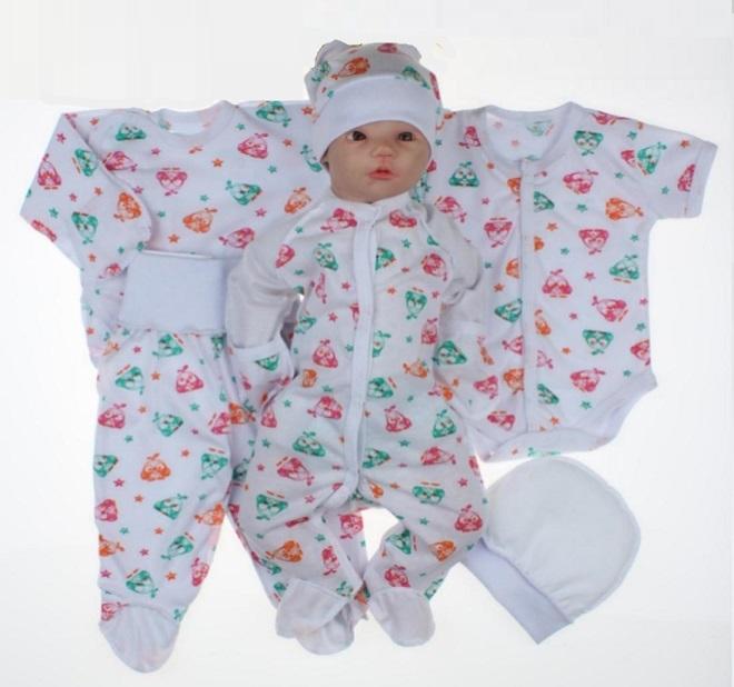 bdde347909e61 Набор одежды для новорожденного в роддом 6 предметов - купить по по ...