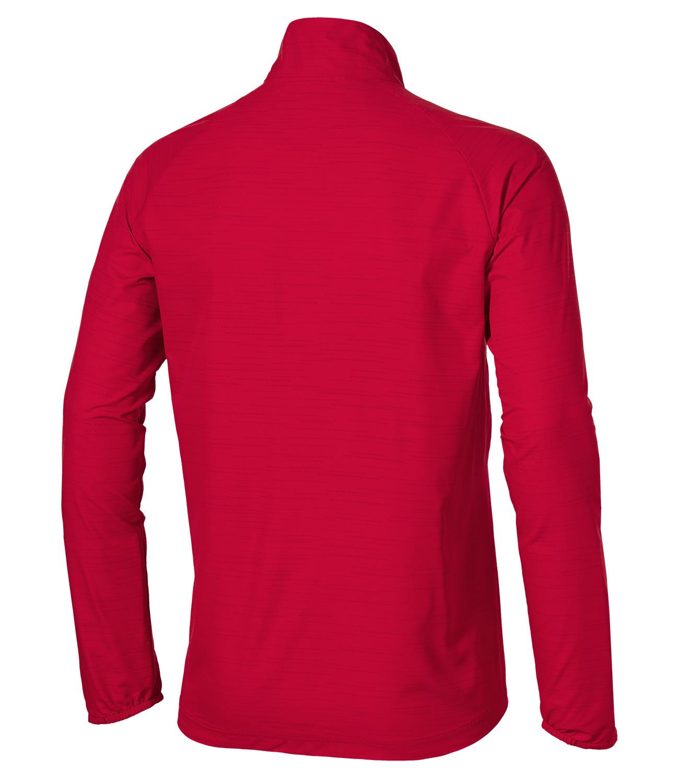Мужская ветрозащитная куртка асикс Lite-Show (132105 6015) красная