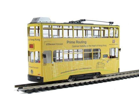 BACHMANN CHINA CE00603 Двухэтажный трамвай  «Prime Routing», H0