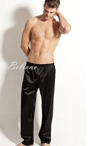Черные брюки из натурального шелка, черные шелковые брюки для сна