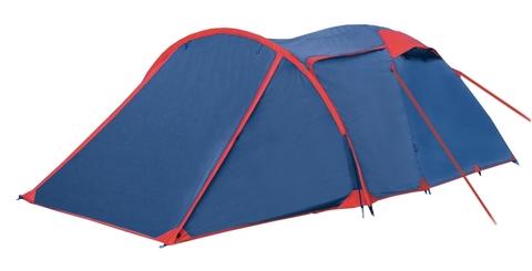 Палатка двухслойная BTrace Spring (синий)
