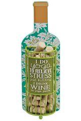 Декоративная емкость для винных пробок Boston Warehouse I Do Yoga To Relieve Stress