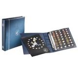 Альбом OPTIMA  включая 5 листов для 25 полных комплектов ЕВРО монет