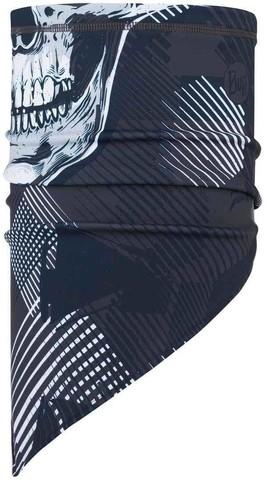 Шарф-труба сноубордическая Buff Bandana Tech Fleece Geosku Grey