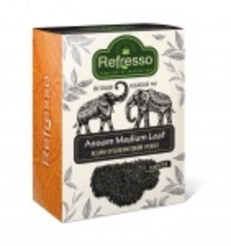 Чай черный Ассам среднелистовой (PEKOE), 100 г, Refresso (Индия)