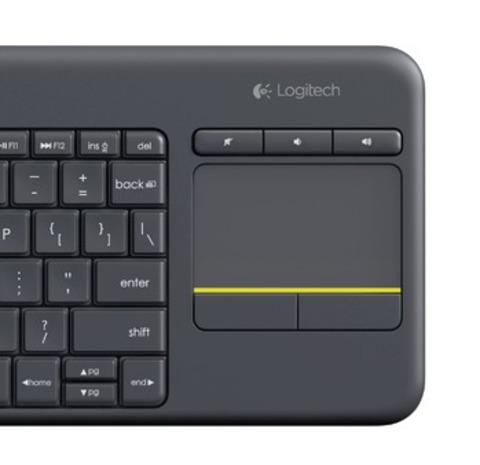 Logitech K400 plus black [115841]