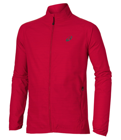 Ветрозащитная куртка Asics Lite-Show мужская красная