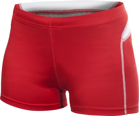 Craft Track and Field Hot Pants женские шорты красные