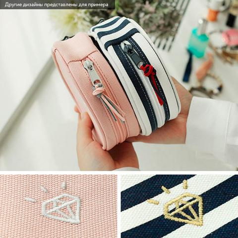Чехол-шкатулка для украшений 'Diamond' / Розовый