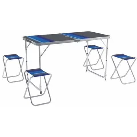 Комплект мебели ZAGOROD В 103 (4 стула + стол складной)