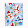 Скатерть круглая 178 Carnation Home Fashions Christmas Fabric Tablecloths Snowman