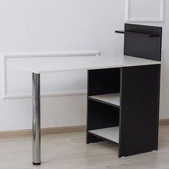 Маникюрные столы и аксессуары Маникюрный стол Комфорт №1 Маникюрный-стол-Комфорт-_1-черный-белый.jpg