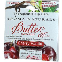 """Органический бальзам для губ """"Вишня и ваниль"""", Aroma Naturals"""
