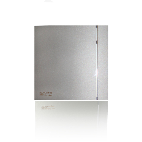 Вентилятор накладной S&P Silent 200 CRZ Design 3C Silver (таймер)