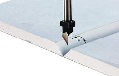 Фреза для обработки ГКЛ HW S8 D12,5/45° Festool 491000