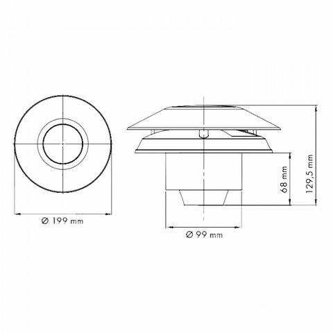 Вентилятор Marley MP-100S (Premium P11)