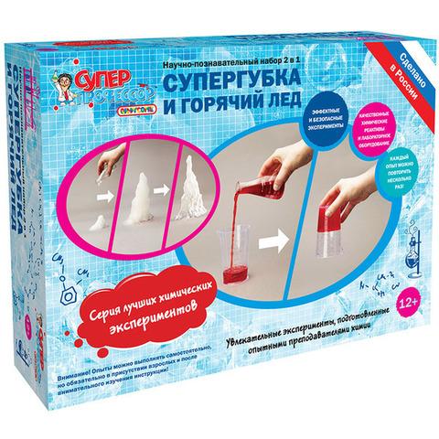 Набор для исследований QIDDYCOME Супергубка и Горячий лёд (X009)