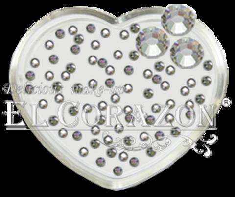 ЭК Стразы стеклянные 100шт/101  SS4-кристалл серебро