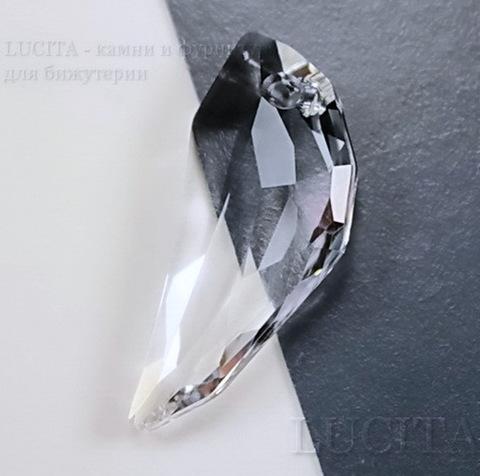 6150 Подвеска Сваровски Клык Crystal  (30 мм)