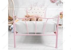 Кровать Квин (Queen 200x90) розовая