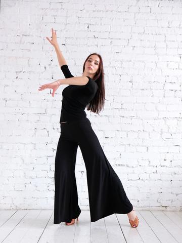 Брюки клеш для танцев арт.306
