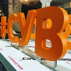 Объемные буквы для выставки