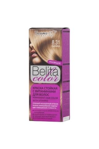 Белита-М Belita Color Стойкая краска с витаминами для волос тон №8.31 Пшеница