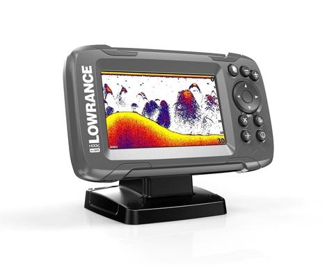Эхолот Lowrance HOOK2-4x GPS с датчиком Bullet Skimmer