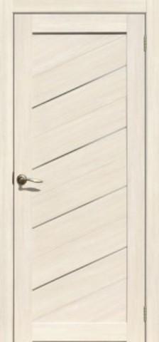 > Экошпон Двероникс 15, стекло матовое, цвет молочный дуб, остекленная
