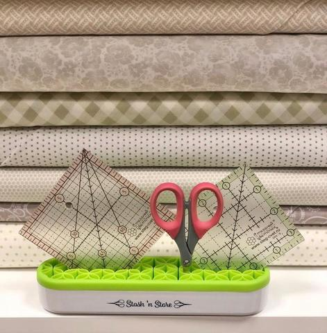 Органайзер для швейных инструментов (зеленый)