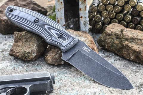 Тактический нож Urban AUS-8 StoneWash G-10