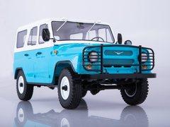 UAZ-31514 blue-white 1:18 Start Scale Models (SSM)
