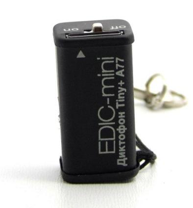 Диктофон Edic-mini Tiny xD A69-300h - 2Gb Black