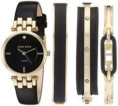 Женские наручные часы Anne Klein 2684BKST в наборе