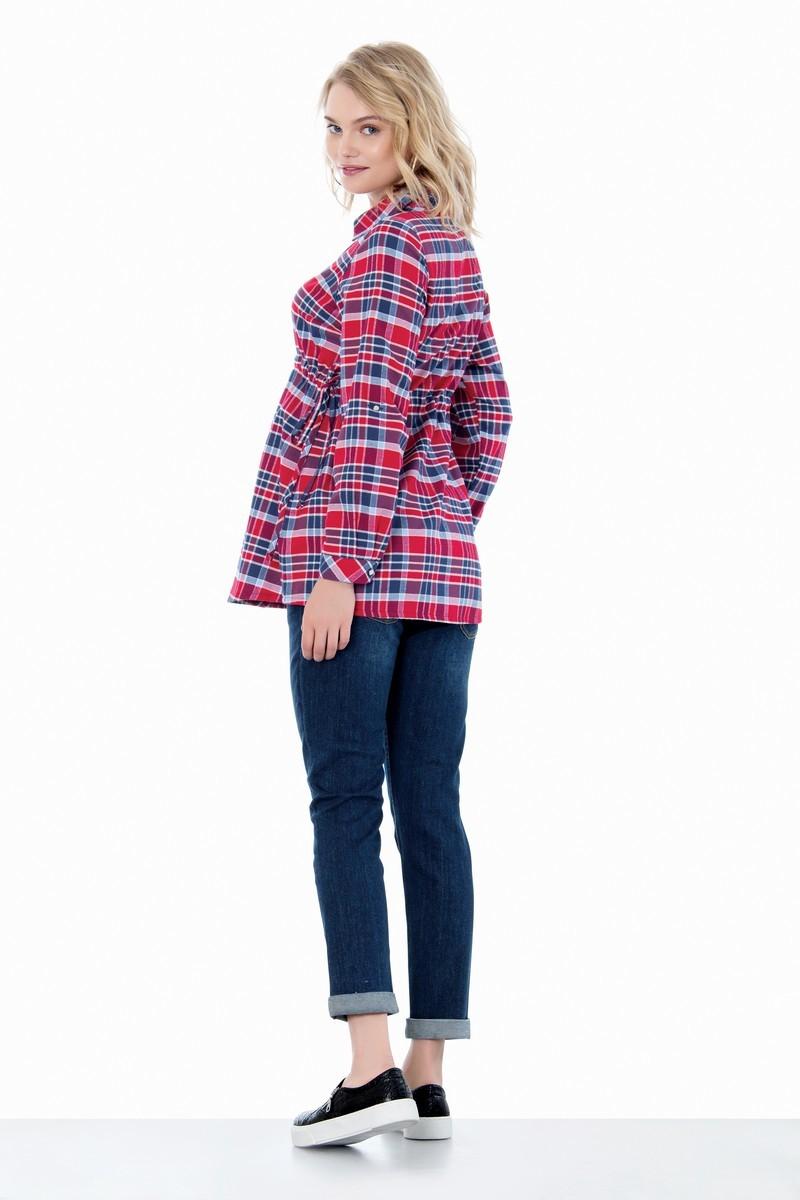 Блузка 01400 красный