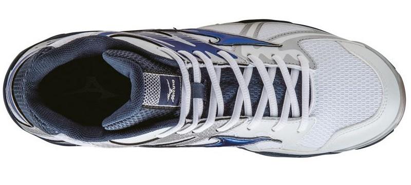 Мужские волейбольные кроссовки Mizuno Wave Bolt 4 Mid (V1GA1565 24) с высоким голеностопом фото