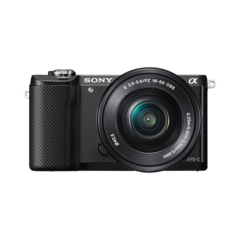 Sony Alpha A5000 Kit Black
