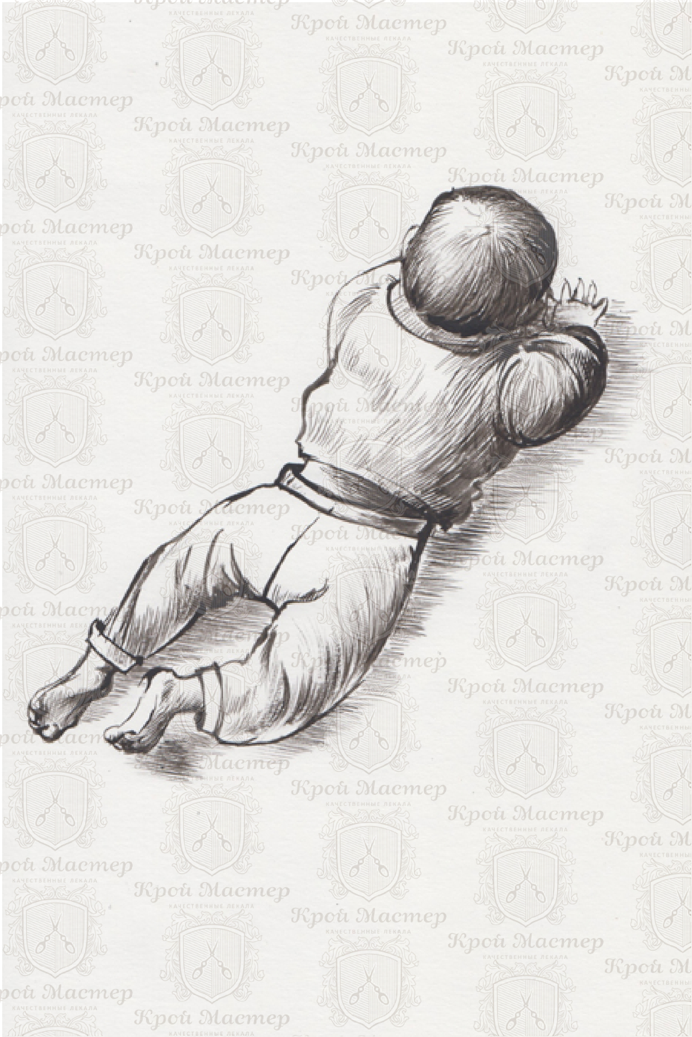 выкройка детских штанов