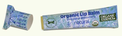 Органический бальзам для губ, Натуральный Organic Essence