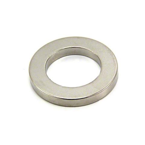 Магнит 35х16х5 мм, N38, никель, неодимовое кольцо