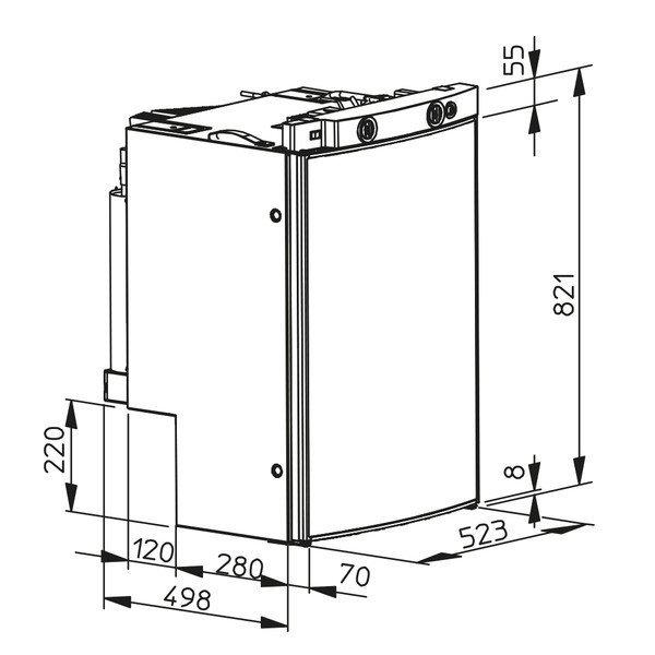 Абсорбционный автохолодильник Dometic RMF 8505