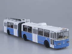 ZiU-10 ZiU-683 trolleybus white-blue 1:43 Start Scale Models (SSM)