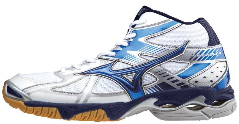 Мужские кроссовки для волейбола Mizuno Wave Bolt 4 Mid (V1GA1565 24) с высоким голеностопом