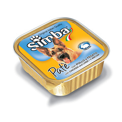 Simba Dog Paté with Chicken and Liver