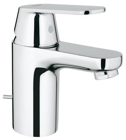 Eurosmart Cosmopolitan Смеситель для раковины со сливным гарнитуром, с энергосберегающим картриджем - подача холодной воды при центральном положении рычага