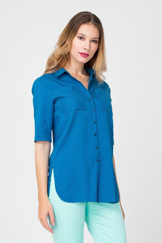 c0b4fee0508 Купить цветную женскую блузку Г665а-324 в интернет магазине с ...